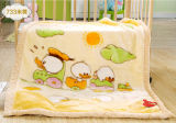 High Quality Super Soft Raschel Baby Blanket (SR-BB170301-18)
