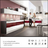 High Quality UV MDF High Glossy Kitchen Cabinet (ZH056)