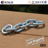 Marine Hardware Carbon Steel DIN766 Short Link Chain