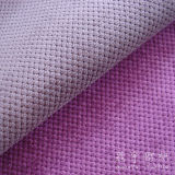 Cat Eye Style Corduroy Fabric with T/C Backing for Sofa