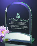 Customized Design Popular Crystal Glass Trophy Award for Promotional Gifts
