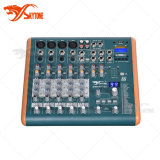 6 Channels Mini Sound Mixer with MP3 Play