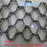 Stainless 304 310S 410s Hex Mesh Refractory Lining
