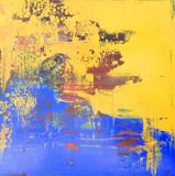 Factory Wholesale Handmade Popular Colorful Abstract Oil Painting