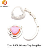Round Shape Hang Purse Hook with Key Ring (XY100605)