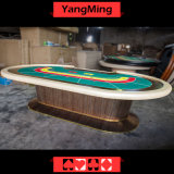 2017 New Custom Style Macau Dedicated Casino Poker Table with 8 Player for The Game (YM-BA10)