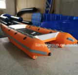 Liya 3.3m 4.3m China Inflatable High Speed Boat Catamaran Sale