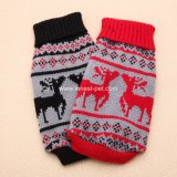 christmas Dog Clothes, Red Black Pet Sweater, Pet Dog Items