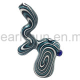 Wholesale Hot Sale New Design Glass Hand Pipe Smoking Pipe Bubbler (ES-HP-518)