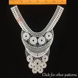 33*38cm High Quality Polester Chemical Collar Lace Trim for Ladies Wear Apparel Hml8568 Circle Net