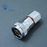 Male Plug Crimp RF Coaxial N Type Connector for 5D-Fb LMR300 Cable