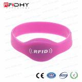 Comfortable Soft NFC Silicone Wrisband, Ultralight C RFID Bracelet