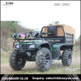 250cc Hummer ATV with High Performance Equipment with Winch Rear Trailer
