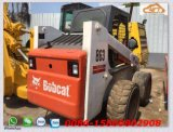 Used Bobcat Skid Steer Loader S300, S863 Backhoe Loader