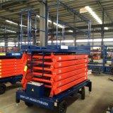 Export Good Quality Electric Drive Scissor Lift Aerial Work Platform