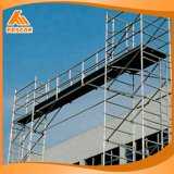 High Protected Painted Ladder Frame Scaffolding Walk Through Frame