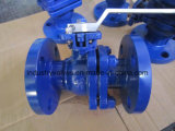 Wcb 300lb Flanged Ball Valve with ISO5211 Mounting Pad