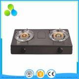 Full Black S. S Panel Double Burner Stove, LGP/Ng Cooker