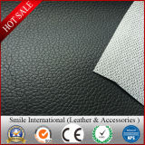 Mesh Backing PVC Leather Lichi Design Classic and Hot Sales Thickness in 0.7-1.2mm Factory Manufacture