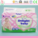 M35 Delight Baby Wholesale Cheap Disposable Thick Baby Diaper in Bulk