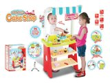 Super Western-Style Kitchen Toys-DIY Cake Shop with Best Material