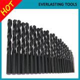 Black Finish HSS Twist Drill Bits for Drilling Wood