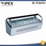 Luxury Ice Lolly Countertop Gelato Display Cabinet