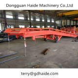 I-Beam Steel Structure Mobile Yard Ramp with 15 Capacity