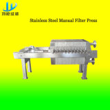 Anti-Corrosion Stainless Steel Manual Plate-Frame Filter Press