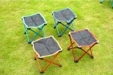 Four Legs Folding Camping Chair Beach Bench Outdoor