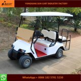 4 Passenger Electric Golf Vehicle with Rear Flip Seats (Folding windshield)