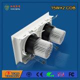 90lm/W 15W*2 Aluminum LED Grille Light