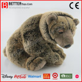 Realistic Stuffed Soft Toy Brown Bear