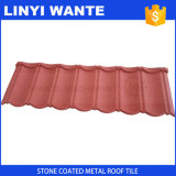 Terracotta Stone Coated Metal Roof Tile with Easy Installation