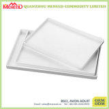 Cafeteria Use White Color Personalized Melamine Tray Wholesale
