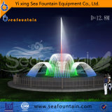 Combination Water Type Music Fountain with Colorful Light