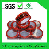 BOPP Packing Tape Logo Printed with Colored Backing Adhesive Tape