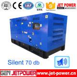 Water Cooling 125kVA Diesel Generators Set with 10hours Fule Tank