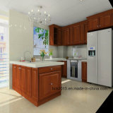 Wholesale Customized American Oak U Style Solid Wood Kitchen Cabinets (BCK-K017)