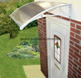 Euro Design Popular Design Polycarbonate White Plastic Door Canopy (YY700-M)