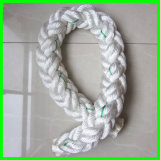 Used in Petroleum Survey Nylon Single Filament 6-Ply Composite Rope