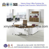 Metal Leg Office Table Melamine Office Furniture From China (M2602#)