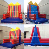 Hot Sale Climbing Wall 2 in 1 Game Combo Inflatable Velcro Wall