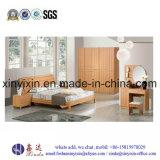 Ikea Wooden Bed Modern Hotel Bedroom Furniture (SH037#)