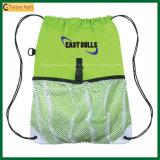 Wholesale High Quality Drawstring Mesh Sports Bag (TP-dB243)
