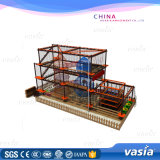 Adventure Play Equipment Shopping Mall Indoor Ropes Course