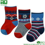 Ningbo Wholesale Fancy Unisex Custom Stripes Cotton Socks