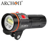 Archon W41vp CREE UV Red Diving Underwater Video Flashlight+Arm