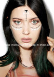 China Supplier Skin Safe Party Eye Stickers White Studs Body Jewels Face Stickers (S027)