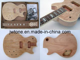 Quality Spalted Maple Top Unfinished Lp Electric Guitar